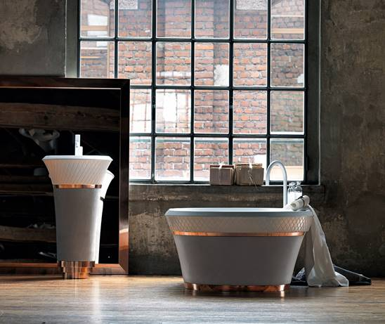 Bathtubs what 39 s new and catching our attention bespoke for What s new in bathrooms 2015