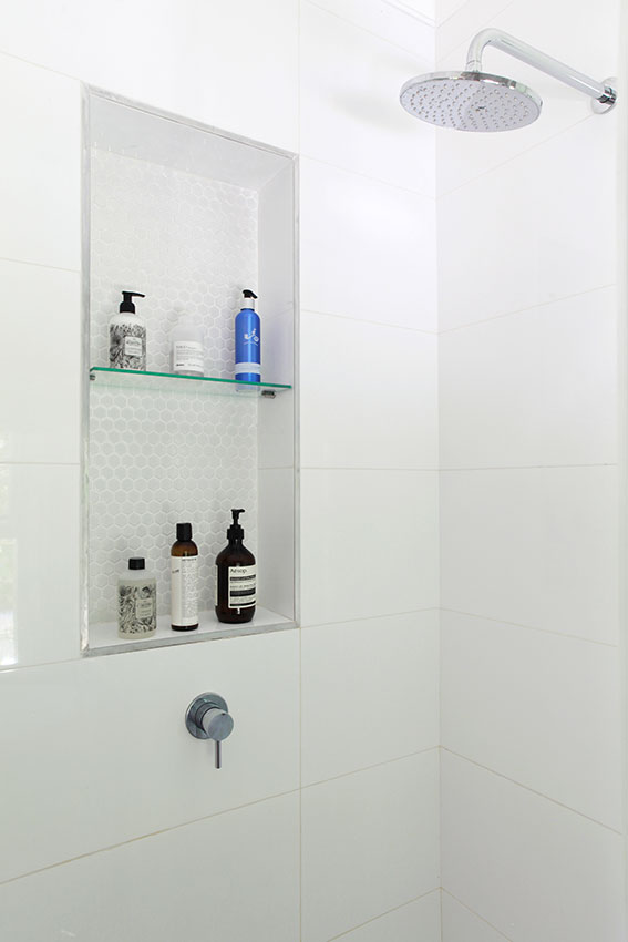 Apartment Wilkinson Shower Niche - Bespoke Bathrooms