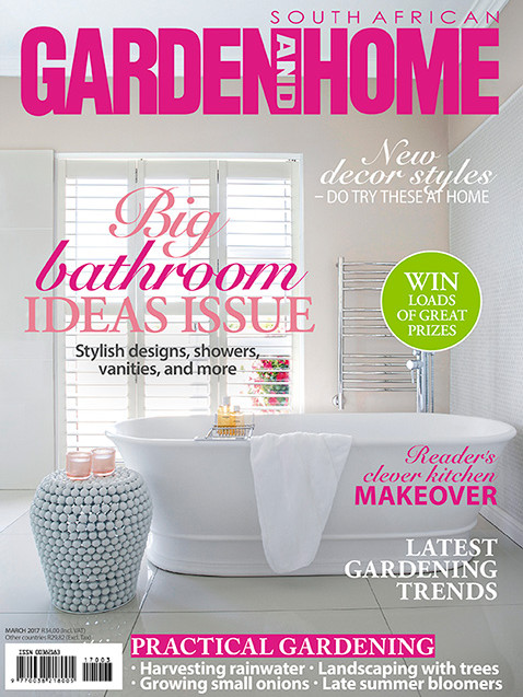 Garden and Home March 2017 Cover - Bespoke Bathrooms