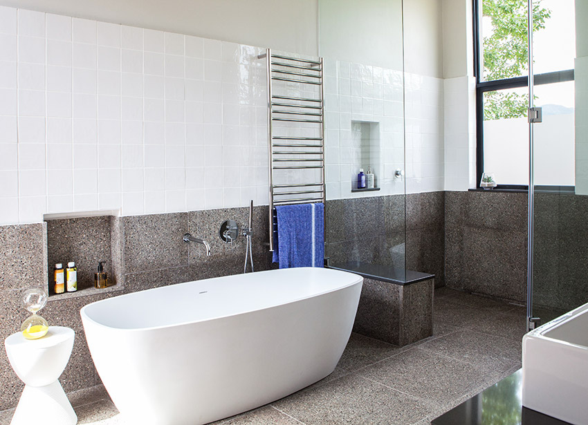 House De Villiers main en suite - Bespoke Bathrooms