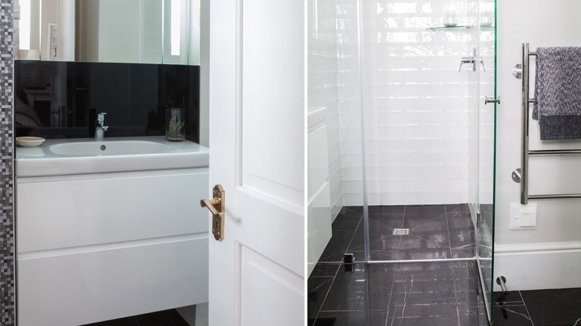 House Lilford small en suite - Bespoke Bathrooms