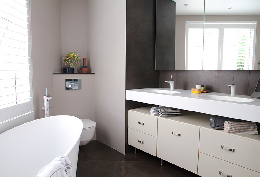 House Pecego Bath and Vanity - Bespoke Bathrooms