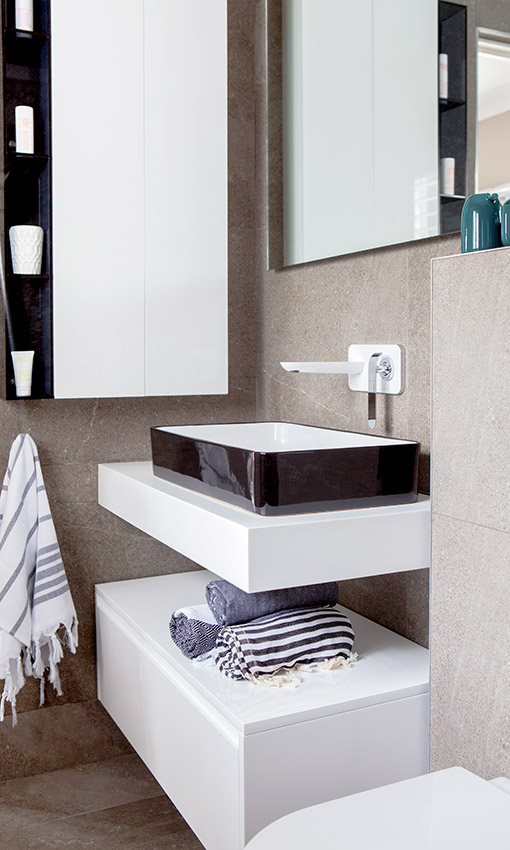House Pecego Vanity and Basin - Bespoke Bathrooms