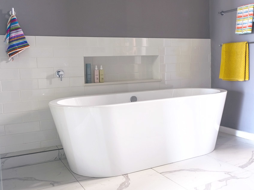 House Ravine Road Bathroom - Bespoke Bathrooms