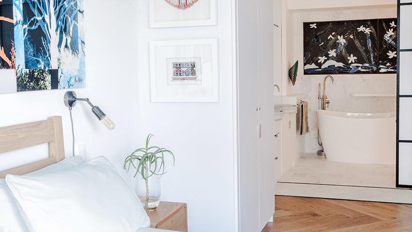 Milton Manor Bedroom and Bathroom - Bespoke Bathrooms