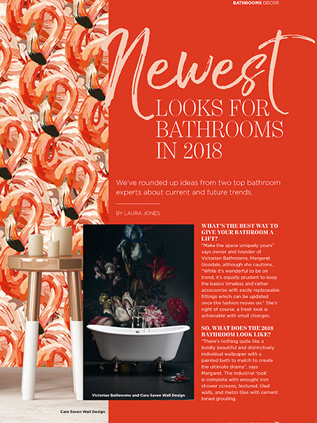 Southern Vines Winter 2018 - pg 71 - Bespoke Bathrooms