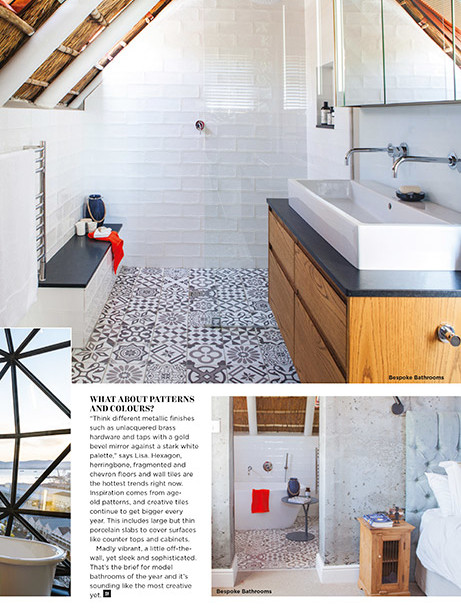 Southern Vines Winter 2018 - pg 73 - Bespoke Bathrooms