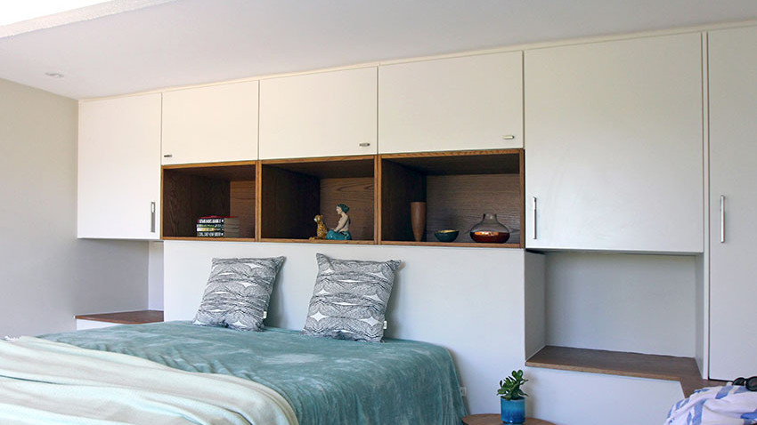 House Goetz Bedroom Joinery - Bespoke Bathrooms