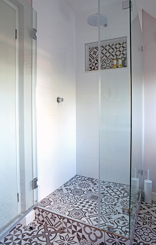 House Sonemann shower - Bespoke Bathrooms