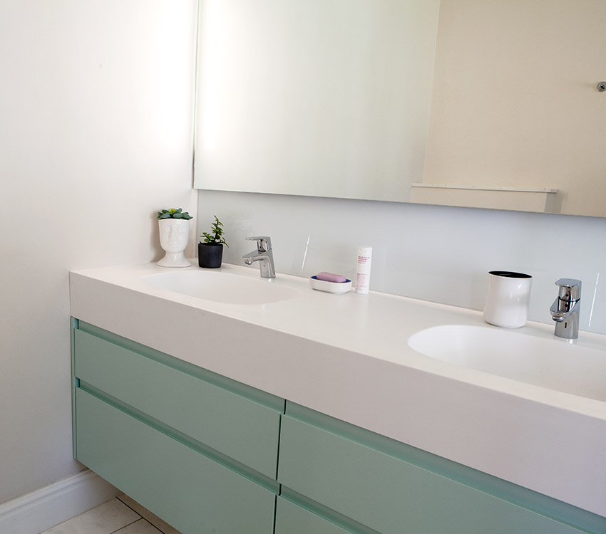 House Whitelock vanity - Bespoke Bathrooms
