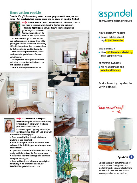 Home June 2019 Page 81 - Bespoke Bathrooms