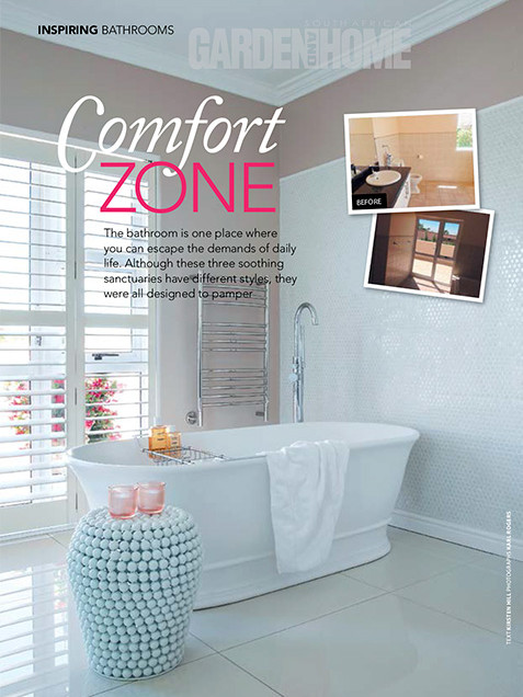 Garden and Home March 2017 pg 50 - Bespoke Bathrooms
