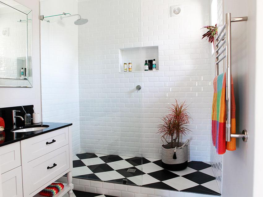 House Clegg Main Shower - Bespoke Bathrooms