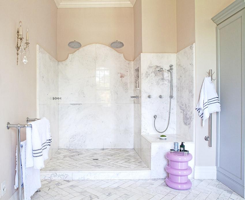 House De Grendal main en suite shower - Bespoke Bathrooms
