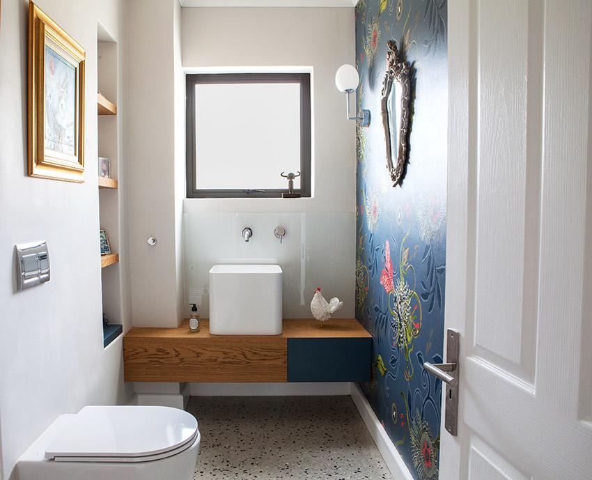 House De Villiers guest cloakroom - Bespoke Bathrooms