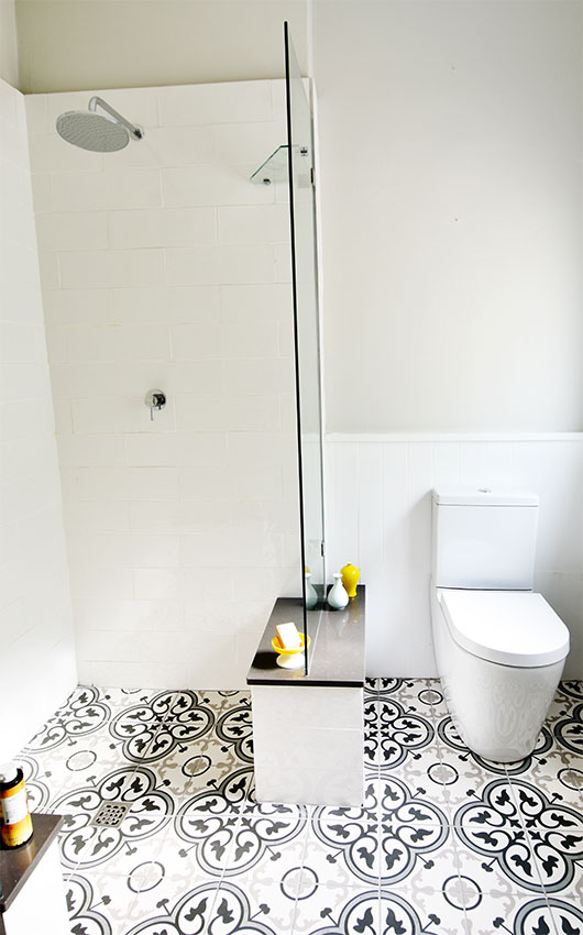 House de Villiers Arniston 1 Shower-Toilet - Bespoke Bathrooms