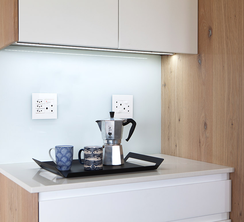 House Goetz Kitchen Coffee Station - Bespoke Bathrooms