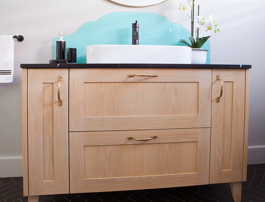 House Jarrett Bathroom Vanity - Bespoke Bathrooms