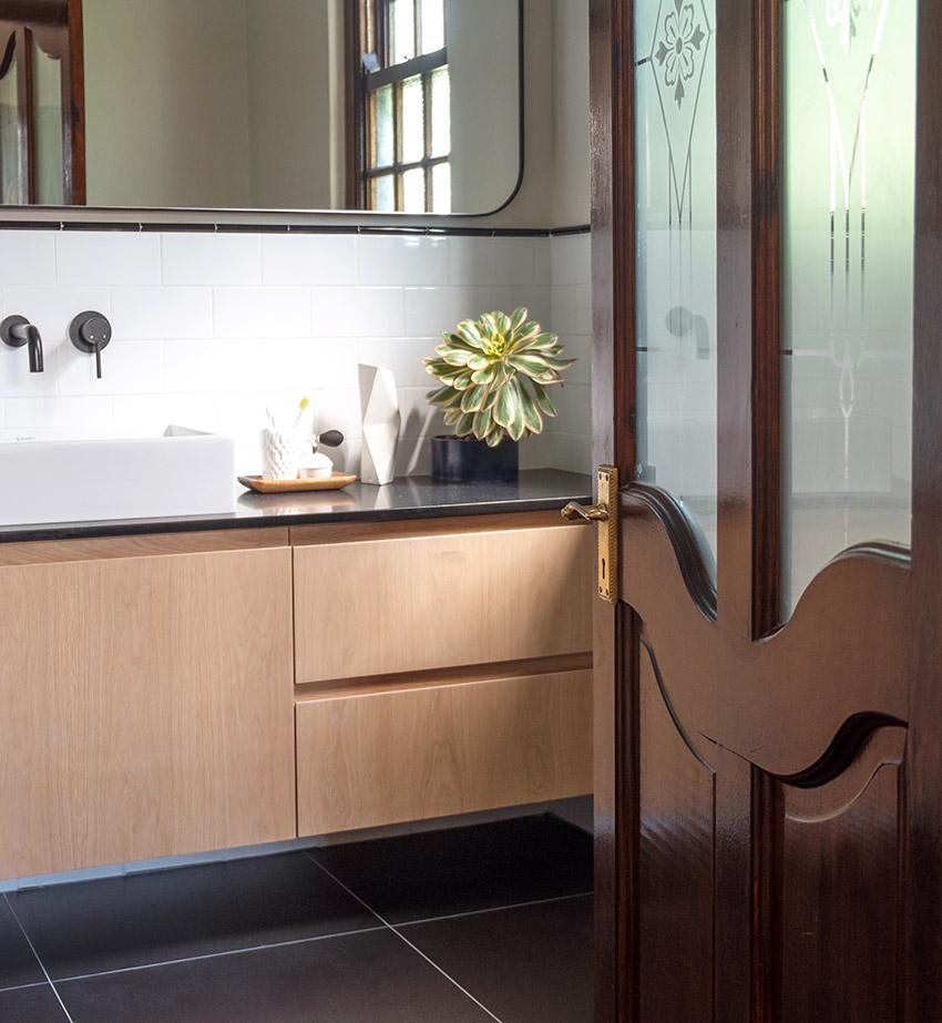 House Van Rooyen Main Vanity - Bespoke Bathrooms