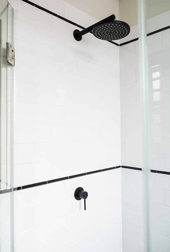 House Van Rooyen Guest Shower - Bespoke Bathrooms