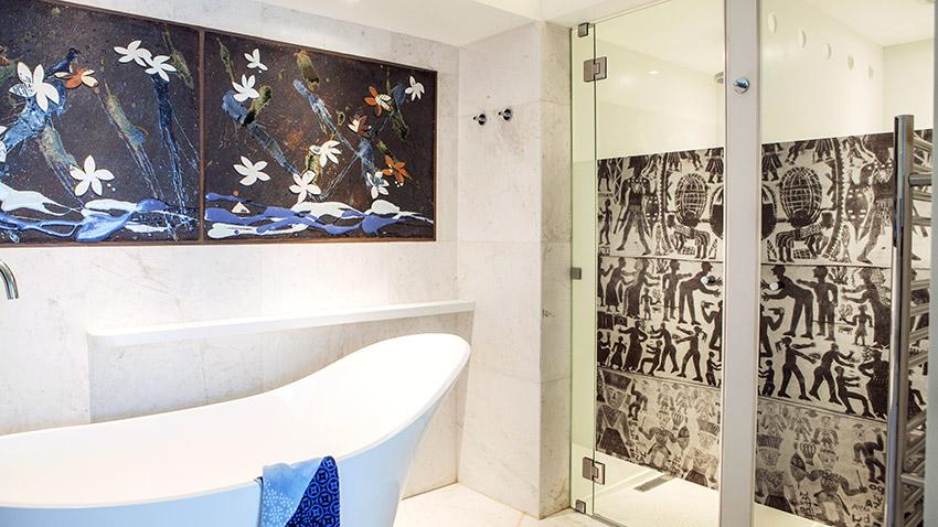 Milton Manor Shower - Bespoke Bathrooms