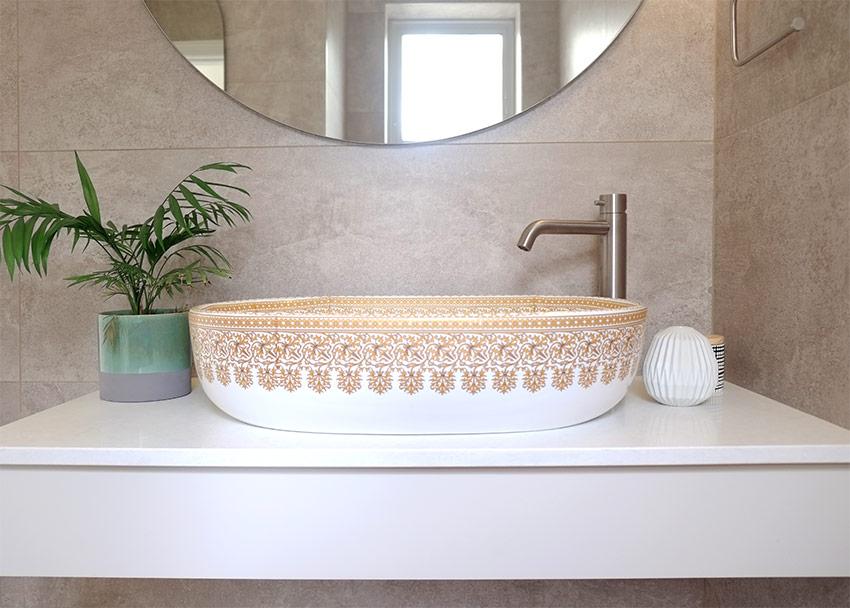 House Naismith Guest Bathroom Basin - Bespoke Bathrooms