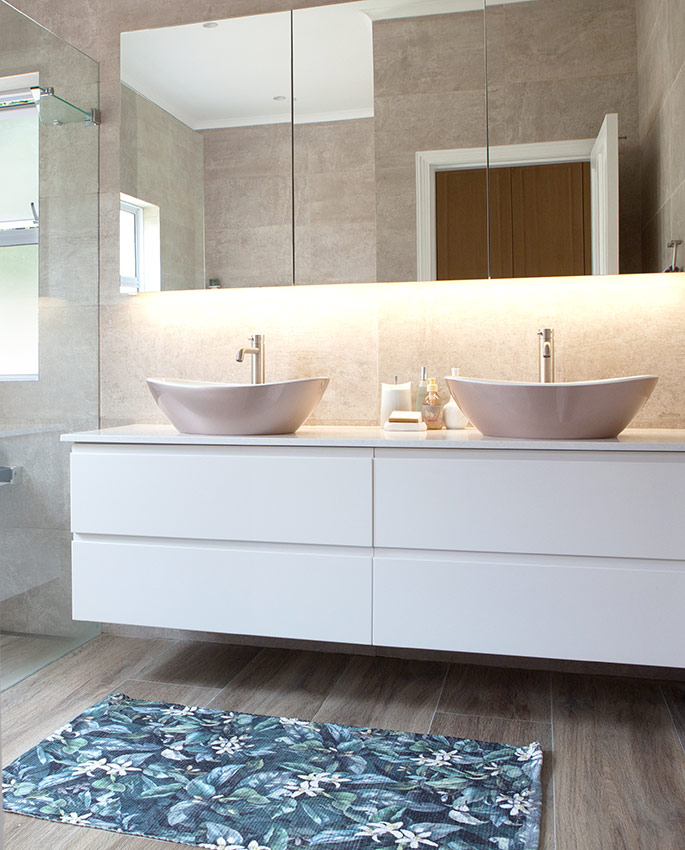 House Naismith Main Bathroom Vanity - Bespoke Bathrooms