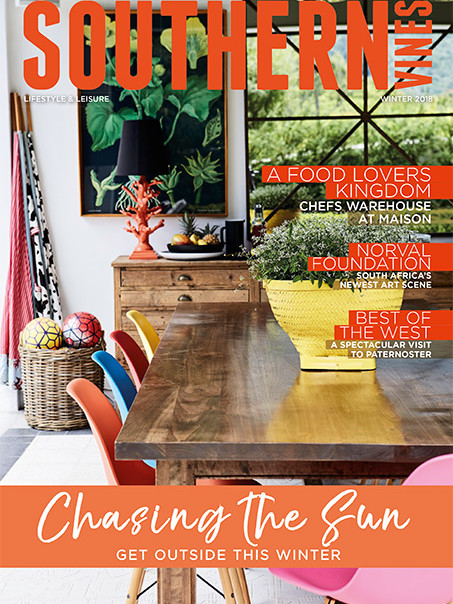 Southern Vines Winter 2018 Cover - Bespoke Bathrooms