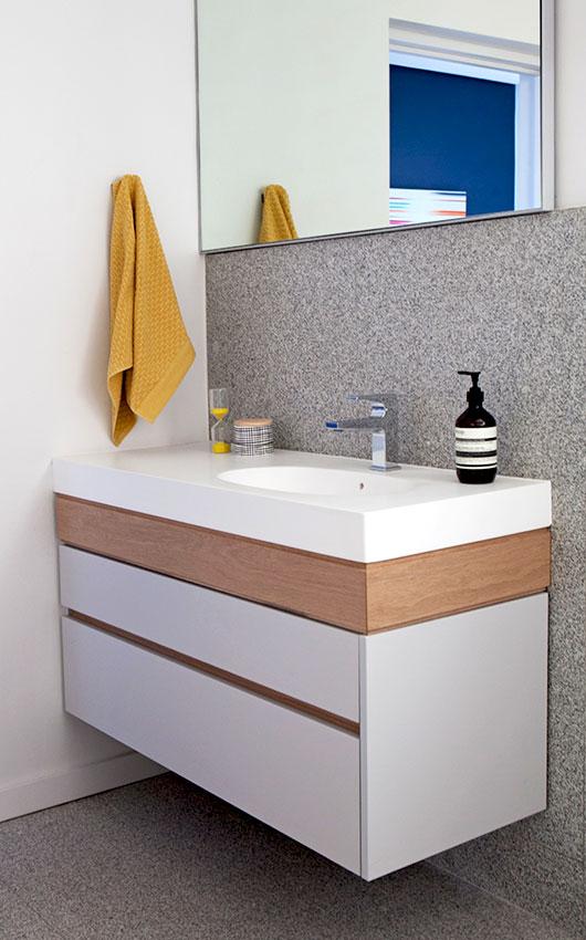 Three Anchor Bay Guest Vanity - Bespoke Bathrooms