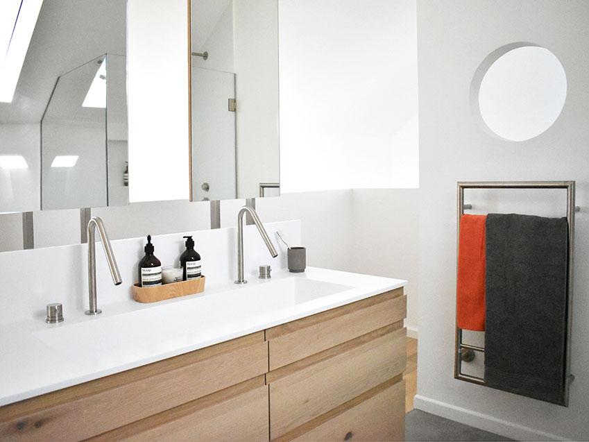 Van-Steensel Main Bathroom vanity - Bespoke Bathrooms