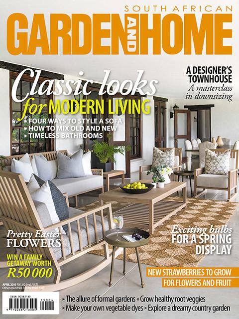Garden and Home April 2019 Cover - Bespoke Bathrooms