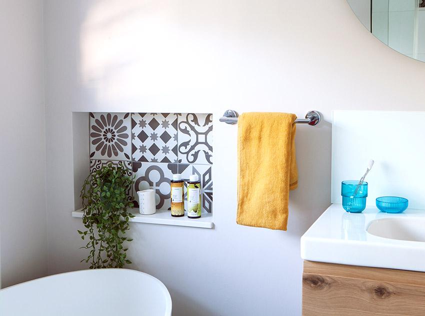 House Sonemann tile detail - Bespoke Bathrooms