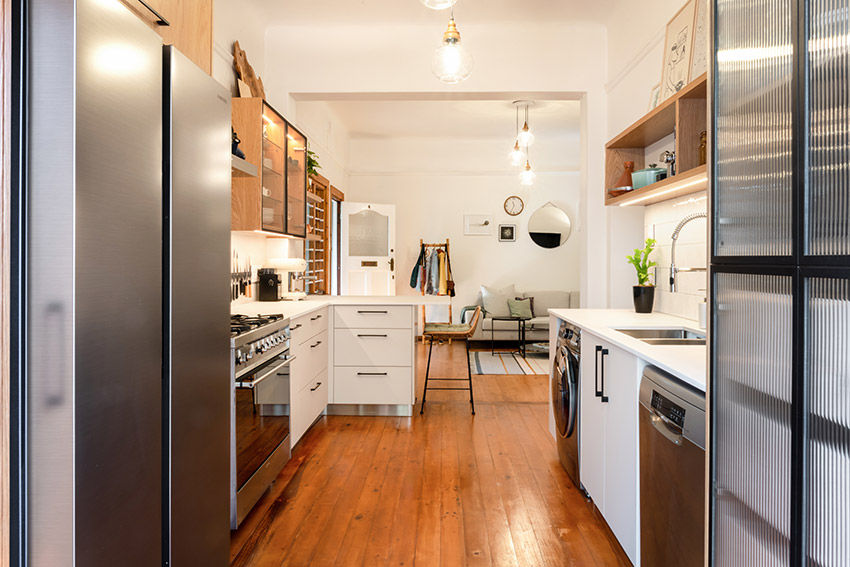 Apartment Kennedy Kitchen with Smeg and Bosch Appliances