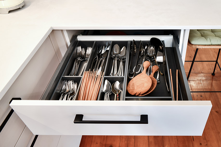 Apartment Kennedy Kitchen Drawer Storage