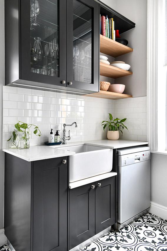 House De Jager Kitchen - Sink and Dishwasher