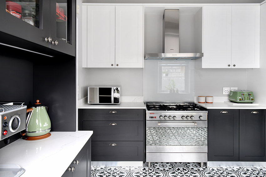 House De Jager Kitchen - Stove